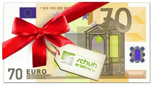 70€ Geschenkgutschein