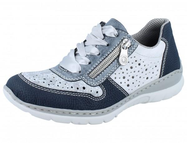 RIEKER L3235-16 Sneaker blau/kombi