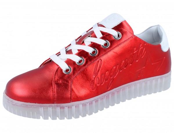 BUGATTI Adia Sneaker red/white Leder