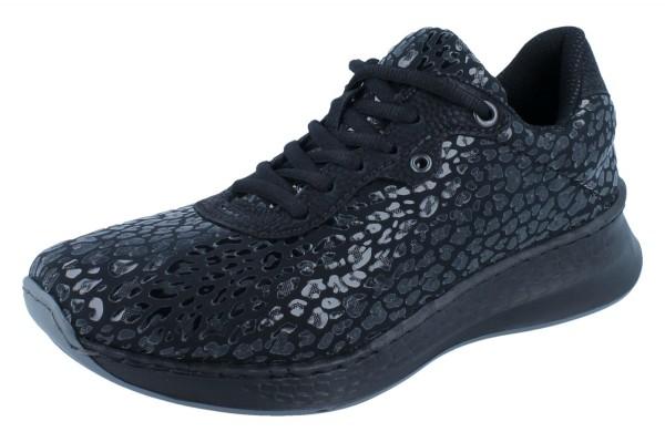 Rieker Damen Sneaker schwarz