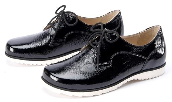 BÄR Schuhe Exquisit Malia schwarz/lack Kalblack