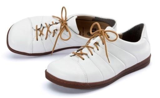 BÄR Schuhe Classic Marcellina weiß/Lammnappa