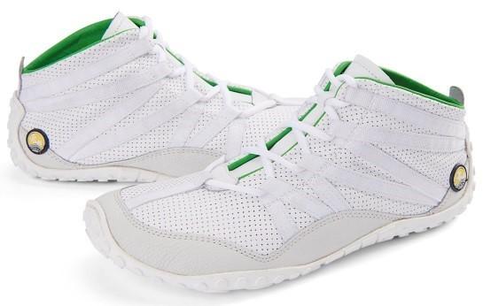 JOE NIMBLE Schuhe FlexToes weiß Rindnappa/perforiertes Rindnappa