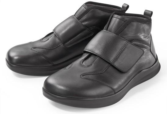 BÄR Schuhe Classic Valentin schwarz Rindnappa/Rindvelours
