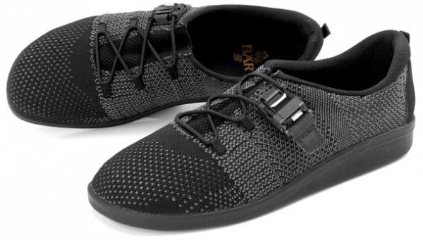 BÄR Schuhe Classic Franziska schwarz/grau Textil/Strickware vegan
