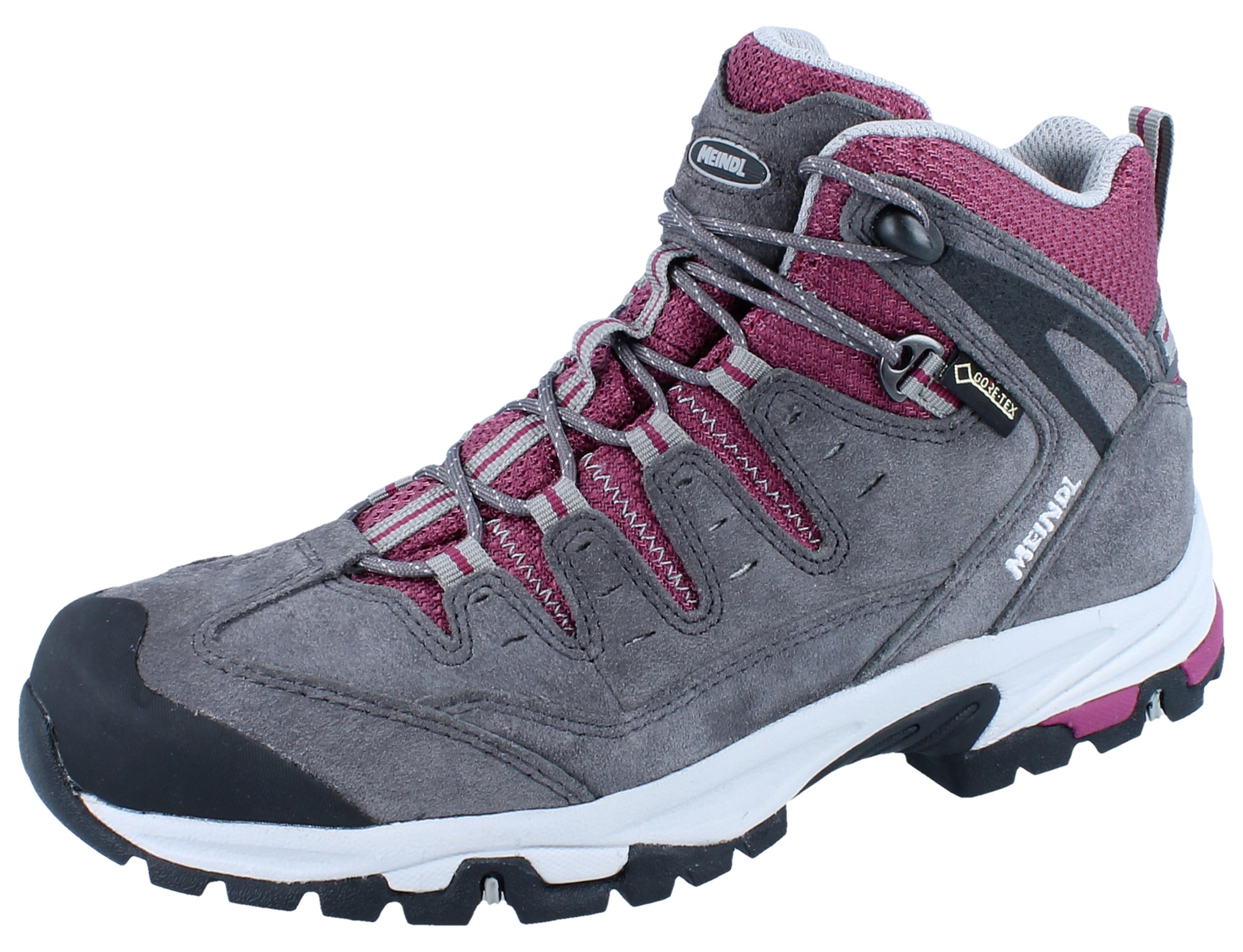Meindl Damen Schuhe Tereno Lady GTX® violett Veloursleder NEU
