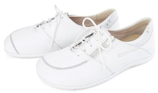 BÄR Schuhe Classic Jolanda weiß/silber Kalbnappa