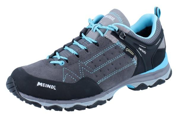 MEINDL Ontario Lady GTX grau/azurblau Veloursleder/Mesh
