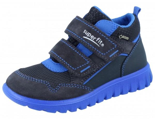SUPERFIT Sport7 mini grau/blau Velourleder/Textil/GTX Weite M