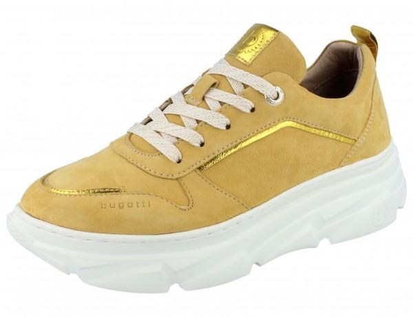 BUGATTI Navi Sneaker yellow/metallica