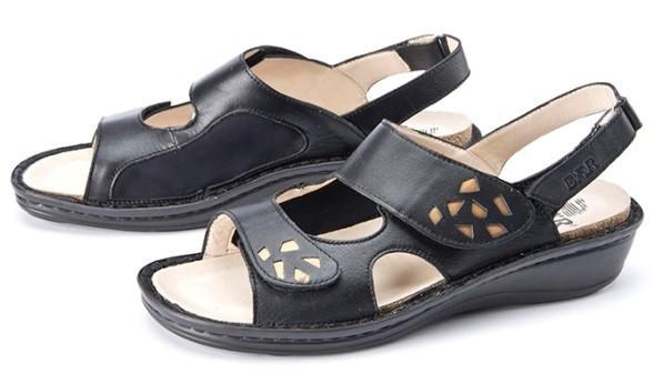 BÄR Schuhe Klassiker Sina schwarz/bronze Kalbnappa