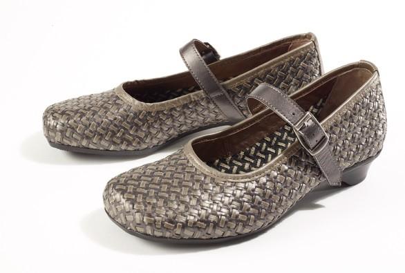 BÄR Schuhe Exquisit Marta anthrazit/schlamm Rindnappa/Kalbnapppa