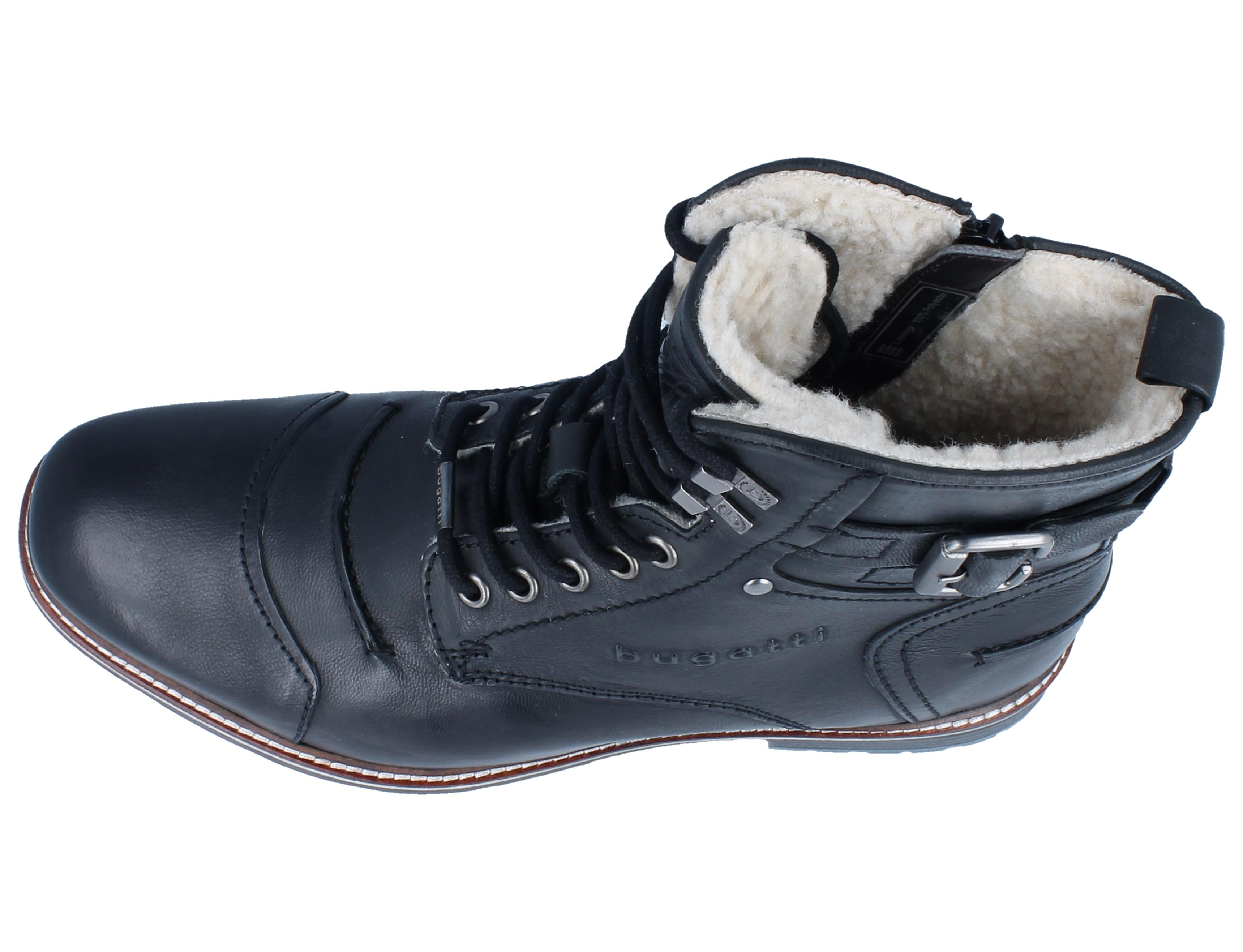 Bugatti Impala schwarz Schuhe Sneaker Low Herren 69