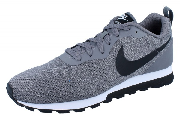 NIKE MD Runner 2 gunsmoke/black-vast grey-white