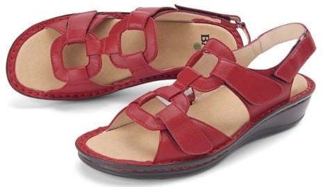 BÄR Schuhe Classic Mirella rot Lammnappa