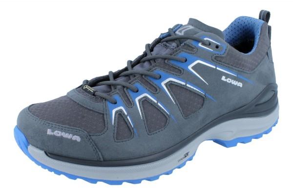 LOWA Innox Evo GTX Lo asphalt/blau