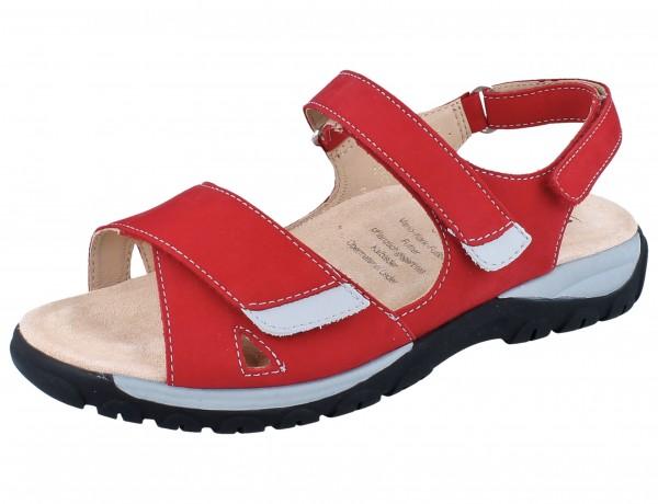 GANTER Happy H Sandale red/Softnubuk
