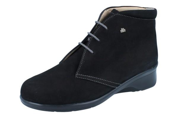 FINN COMFORT Stiefel Mostar schwarz/Nubuk