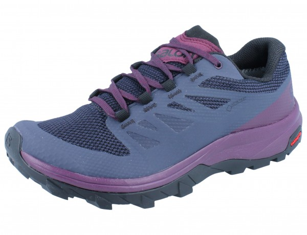 SALOMON Outlline GTX W graphite/potent purple/potent purple