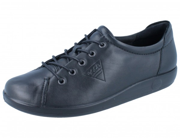 ECCO Soft 2.0 black/Leder