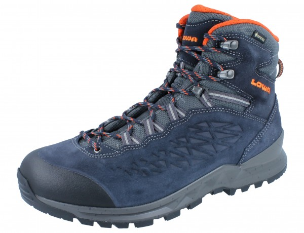 LOWA Explorer GTX Mid navy/orange