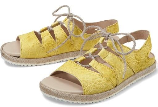BÄR Schuhe Classic Sofie limone/Chevreauleder