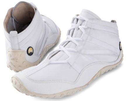 JOE NIMBLE Schuhe FlexToes weiß/Rindnappa