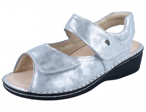 FINN COMFORT Damen 96401 PROPHYLAXE argento/Slide