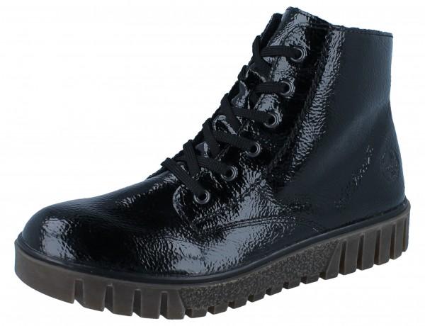 RIEKER Y3441-00 Stiefelette schwarz