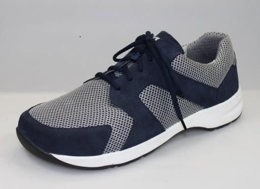 BÄR Schuhe Unisex Extratourer Light Impulsion blau/grau Rindvelours/Mesh/Textil