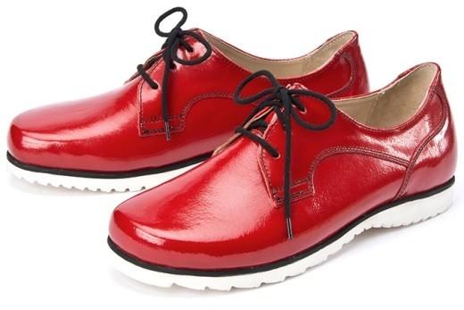 BÄR Schuhe Exquisit Malia rot/lack Kalblack