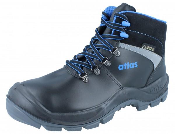 ATLAS GTX 745 Gore-Tex S3 CI schwarz blau Weite 10