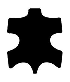 Symbol Kalbleder Futter