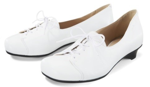 BÄR Schuhe Classic York weiß/Lammnappa