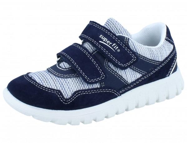 SUPERFIT Sport7 mini blau/grau Velourleder/Textil Weite M