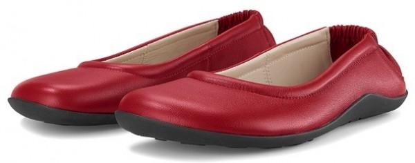 JOE NIMBLE Schuhe StepToes rot/Lammnappa