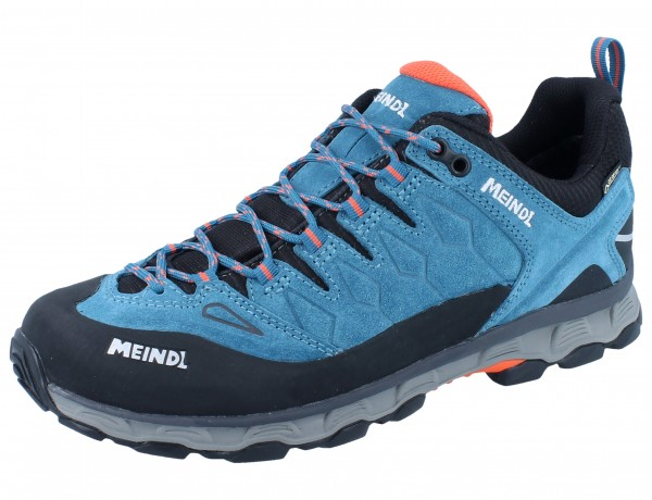 MEINDL Lite Trail GTX orange/petrol Velourleder/Mesh