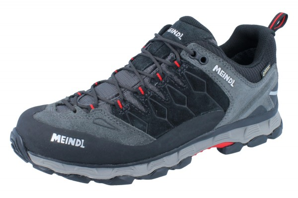 MEINDL Lite Trail GTX Velourleder/Mesh anthrazit/rot