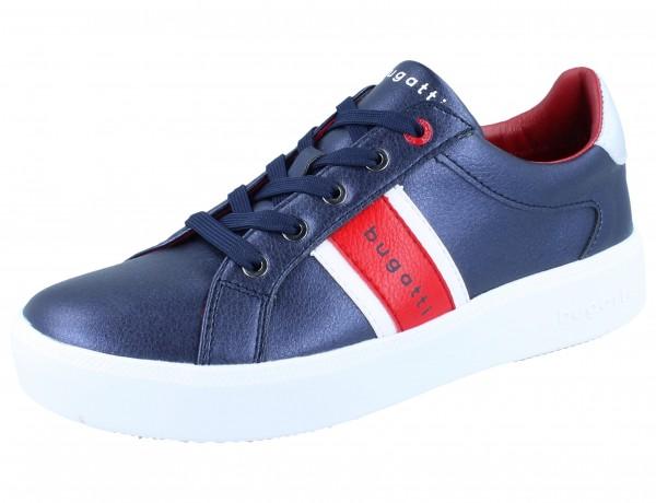 BUGATTI Kelli Sneaker dark blue/red