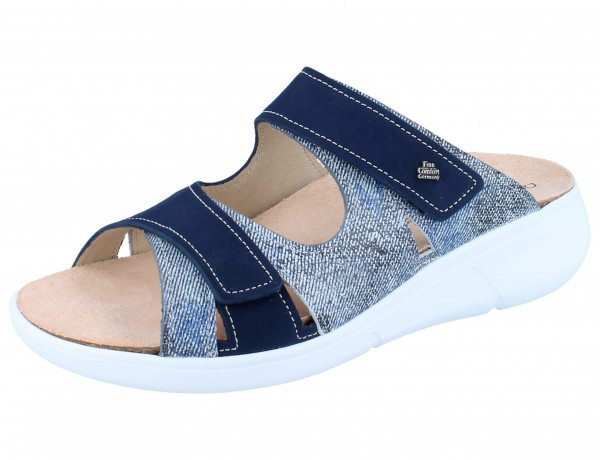 FINN COMFORT Palau jeans/atoll Hippie/Nubuk