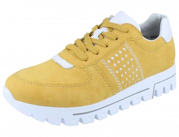 RIEKER L2820-68 Sneaker gelb