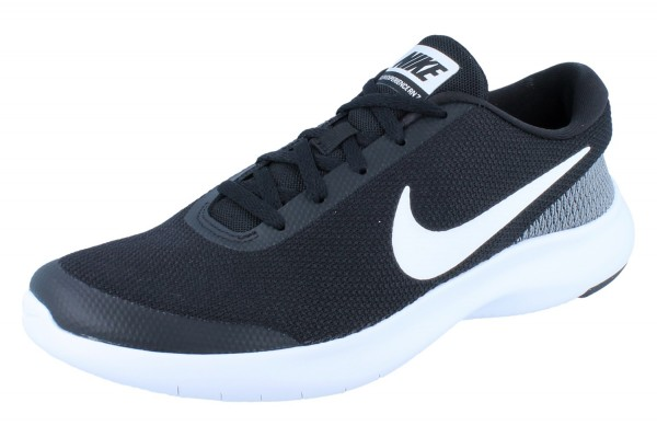 NIKE Flex Revolution Run 7 Herren black/white-white