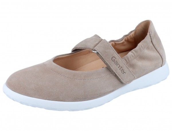 GANTER Gabby G Slipper taupe/Casualvelour